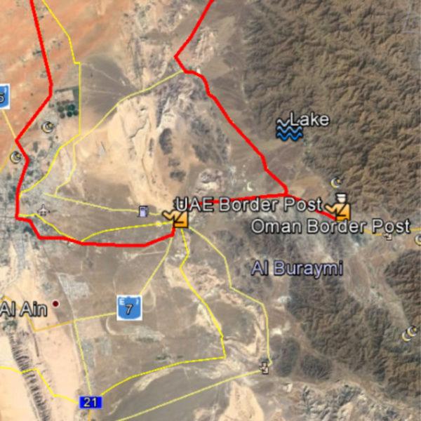 Wadi Weekend map iDirve 4x4