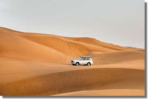 iDrive 4x4 rentals Oman