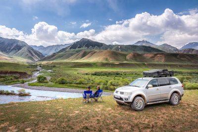 Self-drive rental 4x4 Kyrgyzstan by iDrive4x4